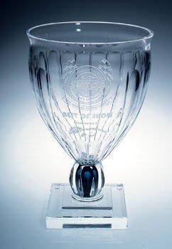 (Pontormo Italian Lead Crystal Vase / Cup)