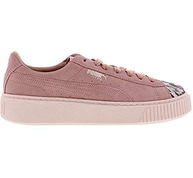 Puma Sneakers Platform Sunfade Damen rosa Größe 41: Amazon.de ...