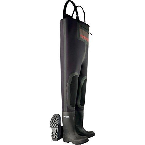 Dunlop Unisex Rubberen Laarzen Lieslaarzen Lieslaarzen Purofort Neopreen S5 Black -20 ° C