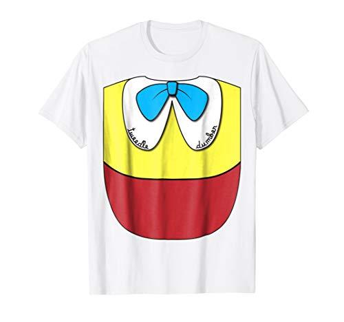 Mens Tweedle Dee Dumber T-Shirt Easy Halloween Couples Costume XL White -