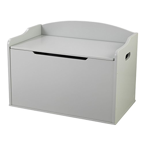 KidKraft Austin Toy Box, Grey Fog
