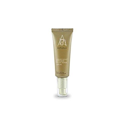 アルファ時間の液体の金の集中夜の修理血清(50ミリリットル) x4 - Alpha-H Liquid Gold Intensive Night Repair Serum (50ml) (Pack of 4) [並行輸入品] B0727R5L73