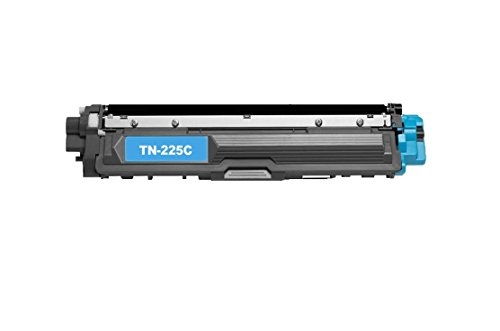 Calitoner Compatible Laser Toner Cartidges Cyan Replacement Brother TN221 TN225 for Brother MFC-9130CW, MFC-9330CDW, MFC-9340CDW, HL-3140CW, HL-3170CDW Printer- (1 Pack)