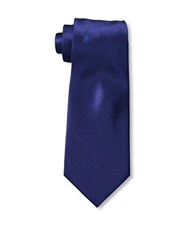 Valentino Mens Marine Blue Silk Neck - Men Valentino For