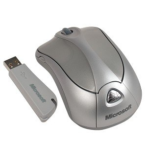 MICROSOFT Wireless Notebook Laser Mouse 6000 RF Wireless Laser Mouse Silver Retail