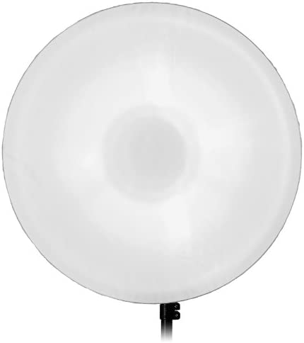 Soft White Interior 70cm Fotodiox Pro 28in All Metal Beauty Dish with Bowens Insert