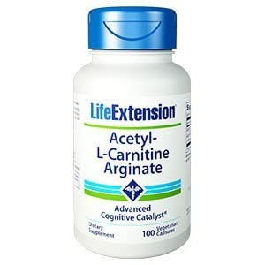 Life Extension Acetyl L Carnitine Arginate 90 Vegetarian Capsules