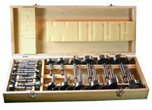 31 Piece Forstner Bit Set in Wooden Box by Peachtree Woodworking PW913