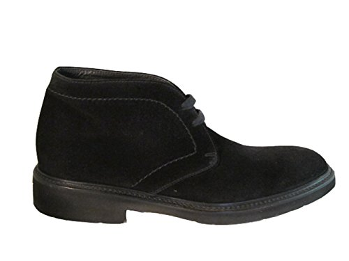 Doucals 1018 Mens Italienska Boots Svart