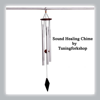 Sound Healing Cosmic OM Wind Chime Free shipping by Tuningforkshop (Image #1)
