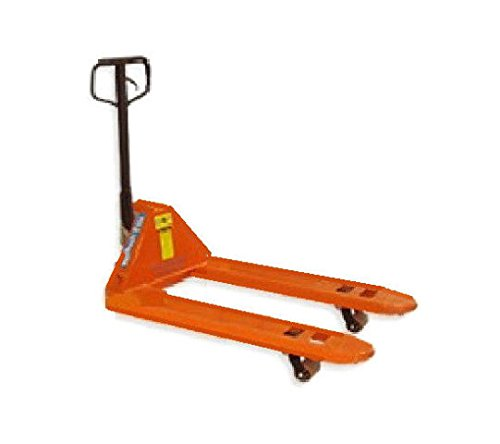 Mighty Lift Narrow Fork Manual Pallet Jack 20'' wide x 48'' long 5500# Capacity by Hydraulic (Image #1)