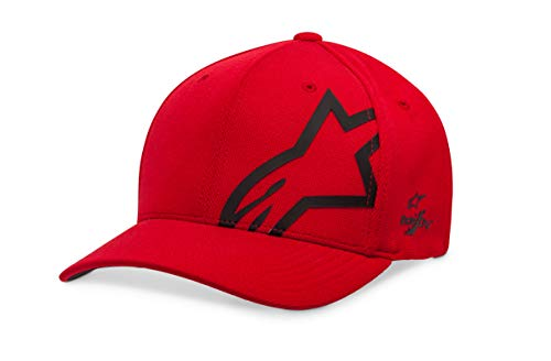Alpinestars Unisex-Adult's Corp Shift Sonic Tech Hat, Red/Black, L/XL from Alpinestars