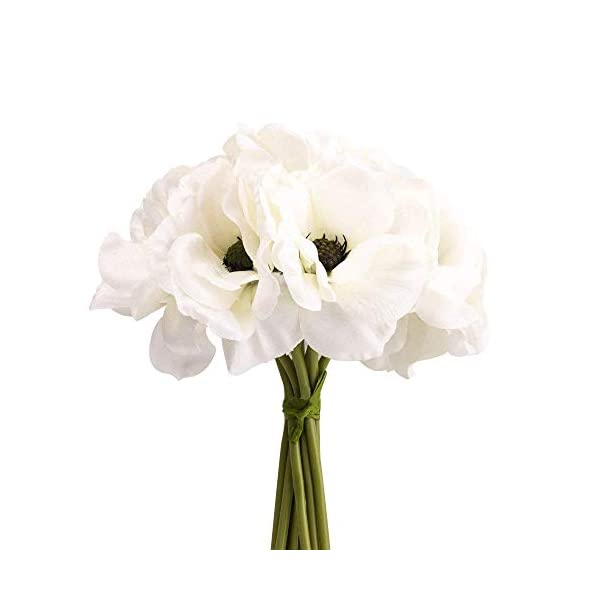 silk-white-anemone-bouquet-Home-Furnishing-decorative-flowers-39bloomx94-tall