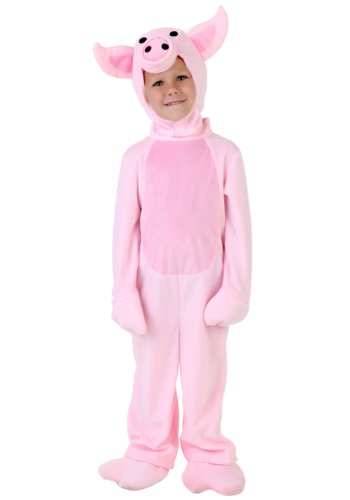 Toddler Pig Costume 2T Pink -