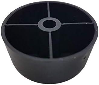 M/öbel Beine rund 50/St/ück Pcs Material Kunststoff Schrauben nicht im Lieferumfang enthalten