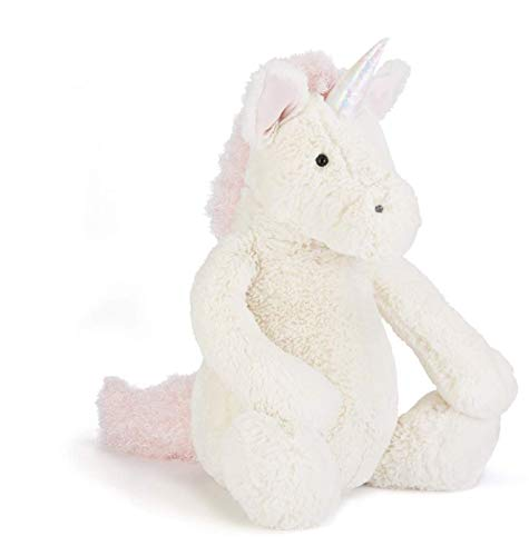 Jellycat Bashful Unicorn Stuffed Animal, Really Big, 31 inches