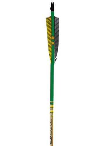 Rose City Archery Port Orford Cedar Extreme Elite Arrows with 5-Inch Length Shield Cut Fletch