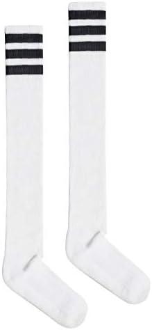 American Apparel Unisex Stripe Thigh-high Socks