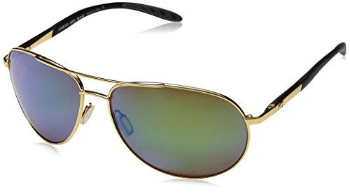 Costa del Mar Men's Wingman Polarized Iridium Aviator Sungla