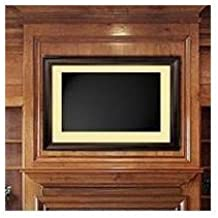 LCD Fashion Small Mahogany Universal TV Frame