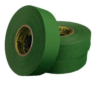 3 Rolls of Comp-O-Stik GREEN Hockey Tape Lacrosse Stick Tape ATHLETIC TAPE (3 Pack) Made In The U.S.A. 1'' X 27 yards