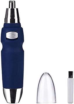 DLLY Recortador De Orejas De Nariz Eléctrico para Hombres Cabezal De Corte Resistente Al Agua Funcionamiento De La Batería Máquina De Podadoras De Orejas De Nariz Cuidado De La Cara