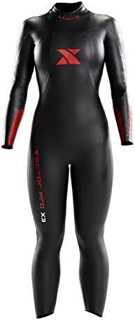 Xterra Wetsuits Women's Vector Pro Full Suit, Black, Small