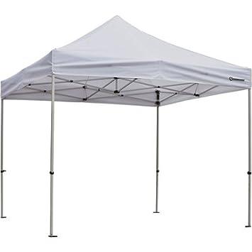 Strongway Commercial-Grade Canopy – 10ft. x 10ft. Straight Leg, White