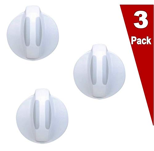 (3 Pack) EXP134844470 Washer/Dryer Combo Selector Knob Replaces PS2330889, AP4353854, 134034970, 134844470, 134034950 SKU: ER134844470-A