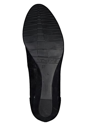 Tamaris Women's 22304-21 Closed-Toe Pumps Black (Black Patent 18) YQFl6Tz5