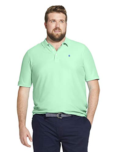 - IZOD Men's Slim Fit Button Down Long Sleeve Stretch Performance Plaid Shirt, Florida Green Keys, Medium