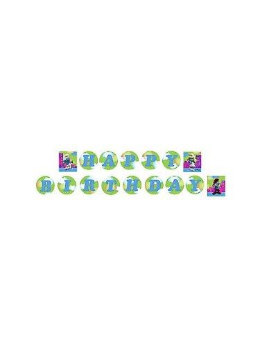 Hallmark Smurfs Plastic Banner