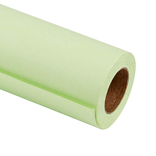- RUSPEPA Mint Kraft Wrapping Paper - 81.5 Sq Ft Heavyweight Paper for Wedding,Birthday, Shower, Congrats, and Holiday Gifts - 30Inch X 32.8Feet Per Roll
