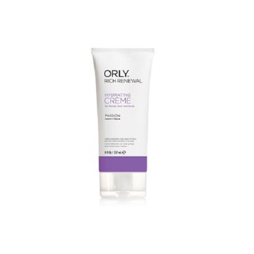 Orly Moisturizer (Orly Rich Renewal Hydrating Creme, Passion, 8 Ounce)