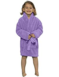 8d2fd316fa9 TowelnRobe Microfleece Plush Bath Robe for Boys - Turkish Kids Bathrobe