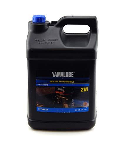 (Yamalube LUB-2STRK-M1-02 2M Outboard TC-W3 2-Stroke Engine Oil (2-1/2 GALLON))