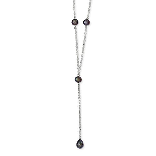d74c613832c5 Barato Plata de ley con diseño de pavo real collar de perlas cultivadas de agua  dulce