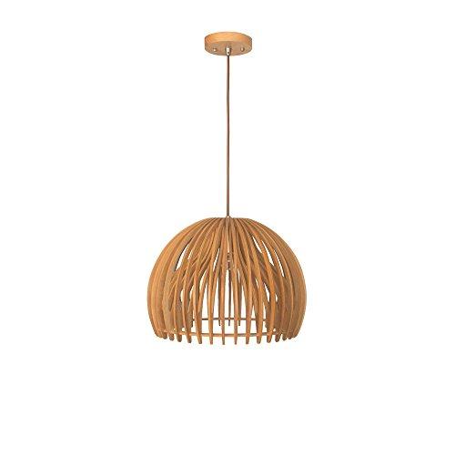 Light Oval Bowl Chandelier (Starthi Contemporary Style Bentwood Bowl Shape Pendant Light)