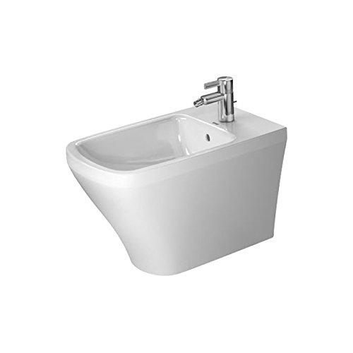 Duravit 2283100000 Bidet floor Stand. 63 cm DuraStyle white, with OF. with TP, 1 TH, - Bidet Duravit