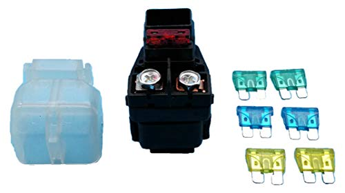 (Tuzliufi Replace Starter Solenoid Relay Suzuki Motorcycle Off-Road DR-Z250 DRZ-250 DRZ 250 249cc 2001 2002 2003 2004 2005 2006 2007 Replace 31800-13E00 New Z147 )