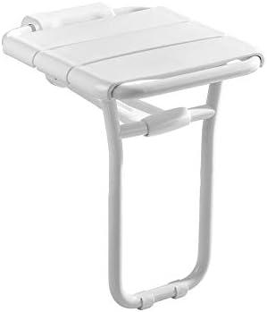 CHENFEILYD Bad Stuhl Duschhocker Wandmontage Duschsitz, Gesundheitspflege Badhocker rutschfeste Sicherheit Klappsitz, für ältere Menschen, Behinderte, Schwangere, Veranda Badehilfen einstellbar