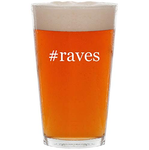 #raves - 16oz Hashtag All Purpose Pint Beer Glass]()