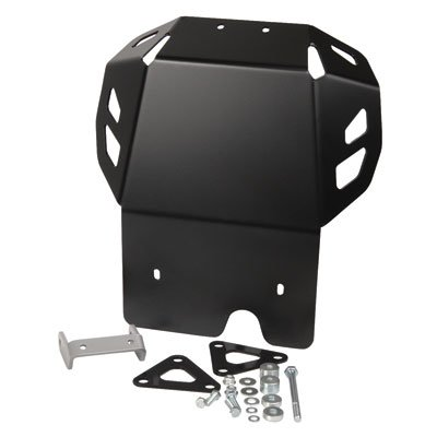 Kawasaki Skid Plates (SW-MOTECH Aluminum Skid Plate Engine Guard for Kawasaki KLR650 '08-'17 - Black)