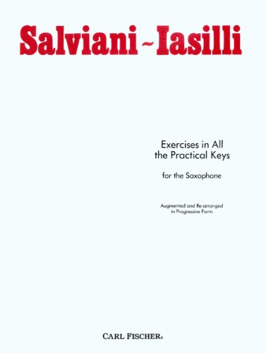 O2929 - Salviani-Iasilli - Exercises in All the Practical Keys for the Saxophone