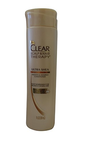 Clear Scalp And Hair Therapy Ultra Shea Conditioner 1.7 fl oz (Relaxed and Natural Hair) (Clear Scalp And Hair Therapy Ultra Shea)