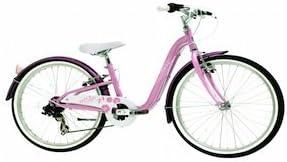 Monty City 3 - Bicicleta de Paseo para niño, Color Rosa, 12