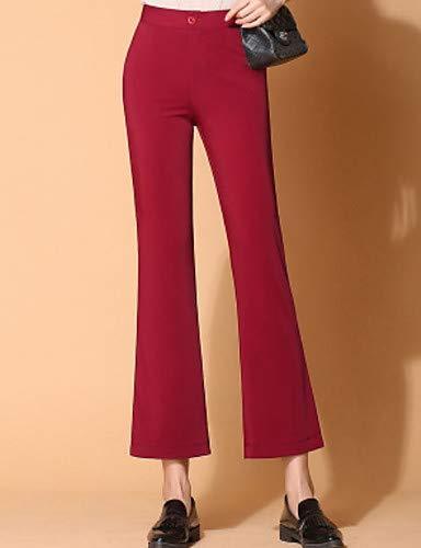 Donna Da Chino Unita Yfltz Gray Tinta Pantaloni Active qwSCvIv1x