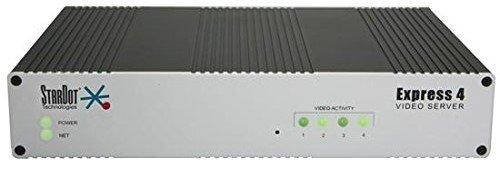 StarDot MJPEG Express 4 Analog Video Server, Black/Silver (SDEXP4) アナログビデオサーバー、ブラック/シルバー 141[並行輸入]   B0752G43XQ