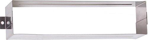"Brass Accents A07-M0020 Mail Slot, 3 5/8"" x 13"", Stainless Steel from BRASS Accents"