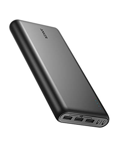 Anker PowerCore 26800 Portable Charger, 26800mAh External Battery with Dual Input Port and Double-Speed Recharging, 3 USB Ports for iPhone, iPad, Samsung Galaxy, Android and Other Smart Devices ()
